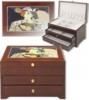 Шкатулки из дерева, миникомоды для бижютерии :Шкатулка-миникомод для украшений  Портофино