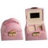 Divinity LSY-3949-P Шкатулка Shiny Croco, розовая