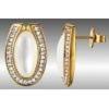 Cerruti 1881 CTER-90011.B Серьги 2 перл, 62 циркон позолота