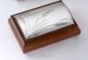 Шкатулки c серебрением Valenti:Шкатулка для украшений Valenti  Колосья , 19,5 х 13 х 7,5 см