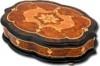 Шкатулки для драгоценностей и украшений из ценных пород дерева GIGLIO GIG600